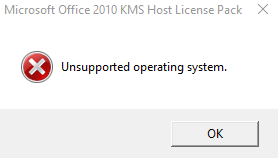 activating office 2010 via kms